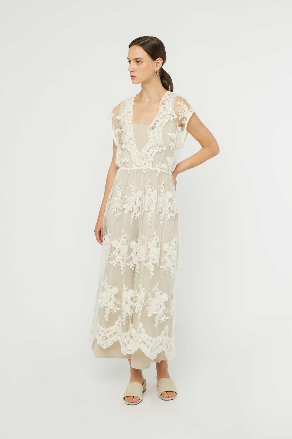 Dress K008 Cream 2