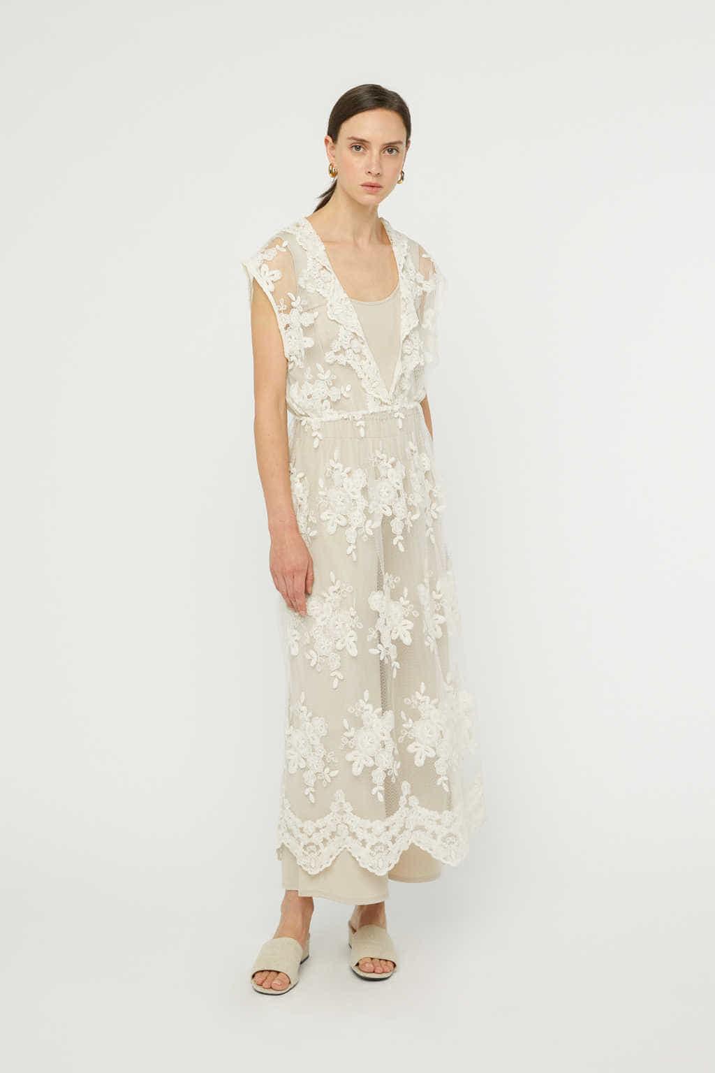 Dress K008 Cream 3