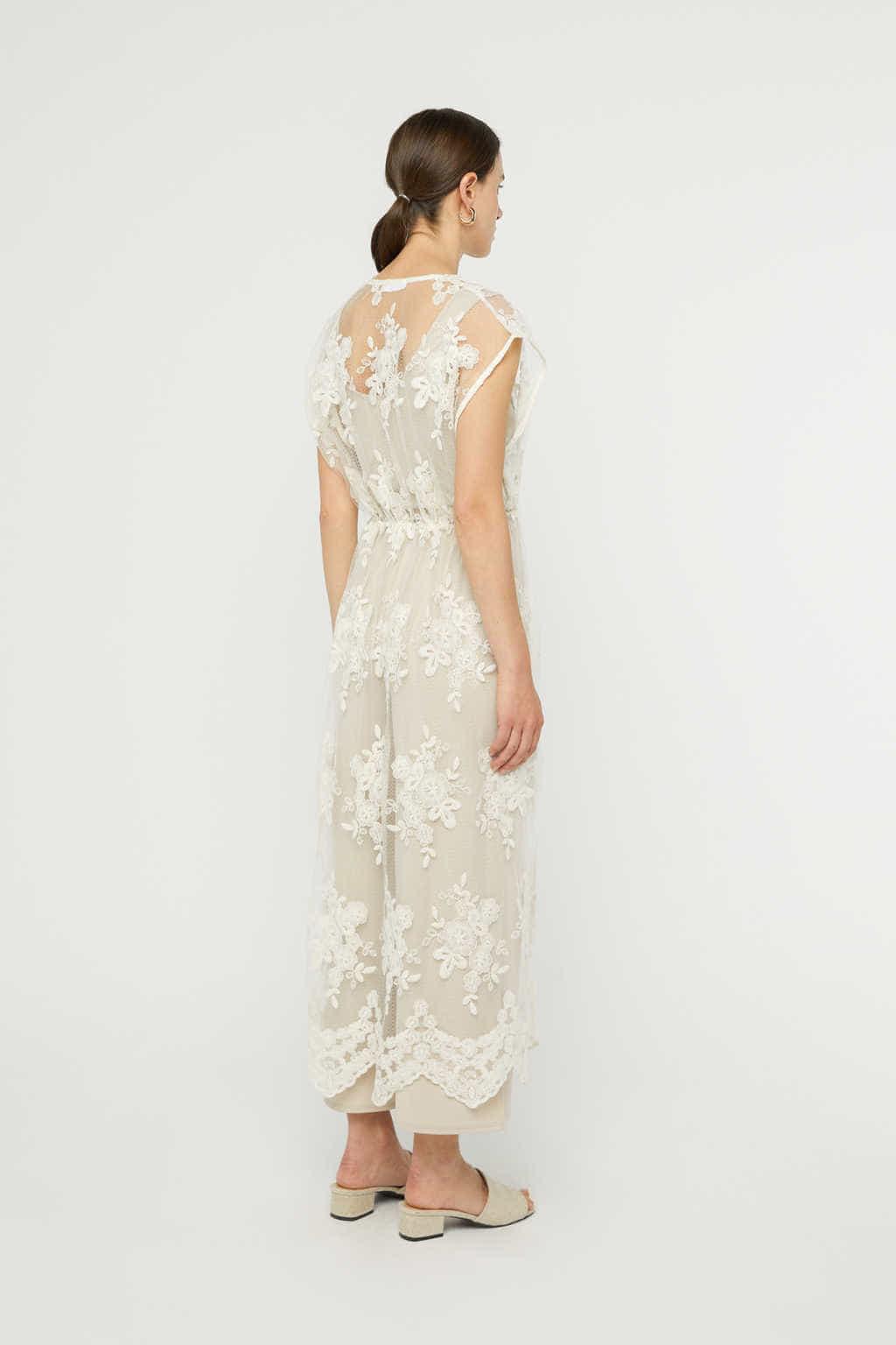 Dress K008 Cream 4