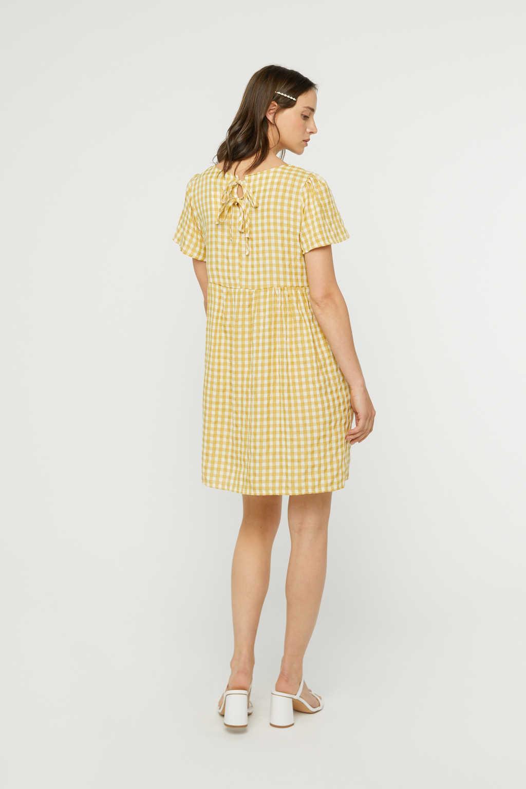 Dress K009 Mustard 1