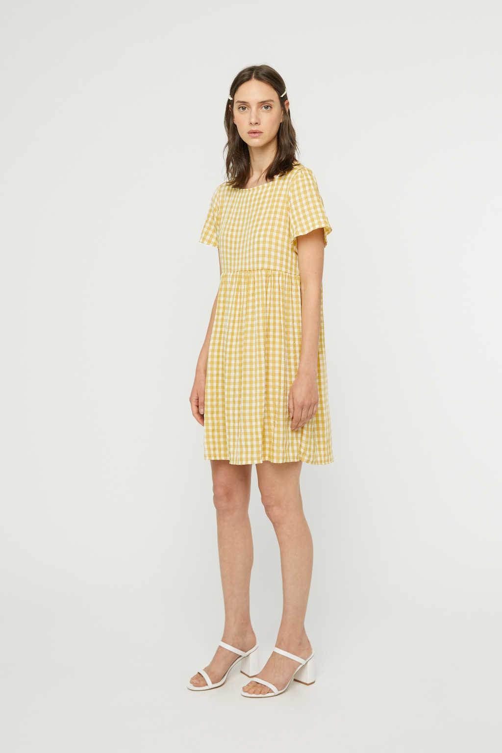 Dress K009 Mustard 2