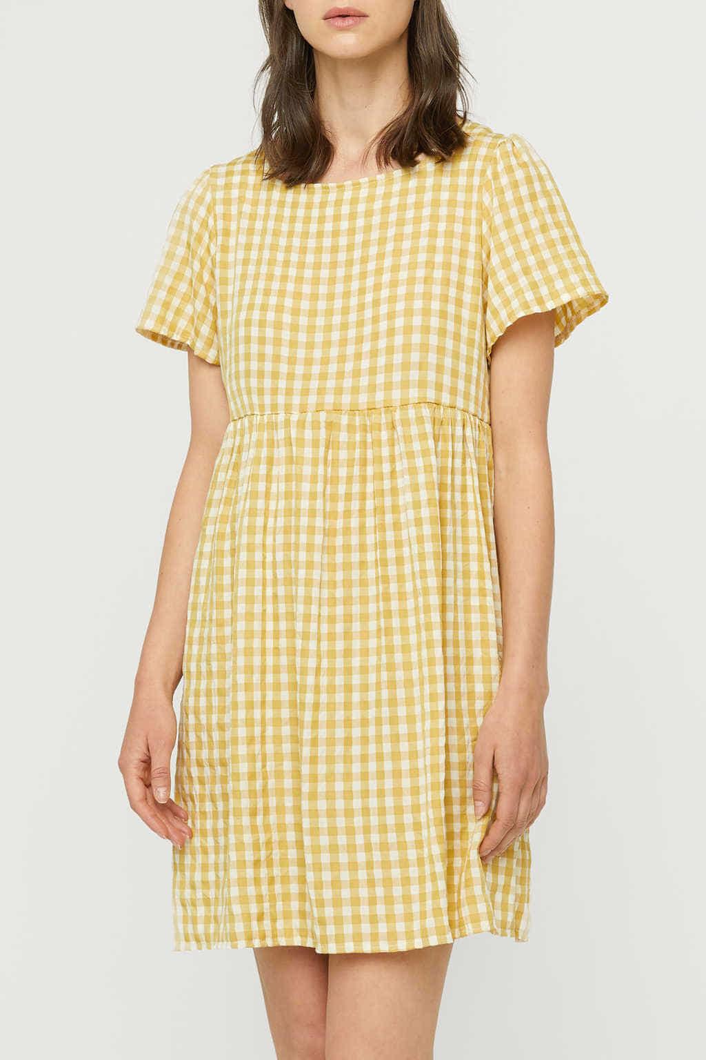 Dress K009 Mustard 3