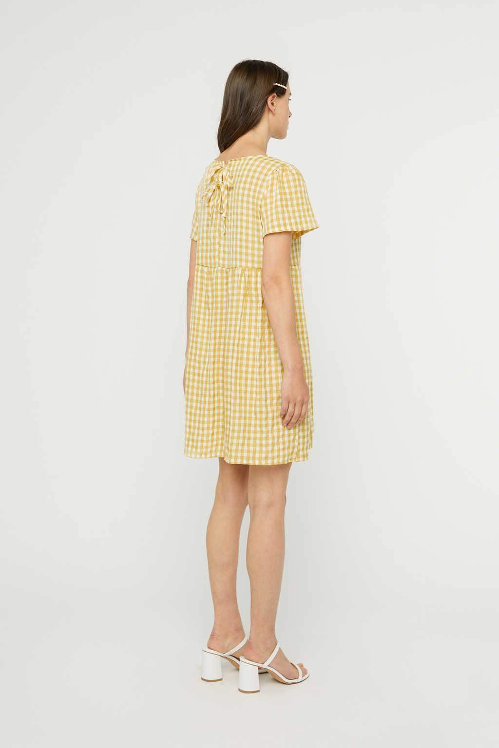 Dress K009 Mustard 4