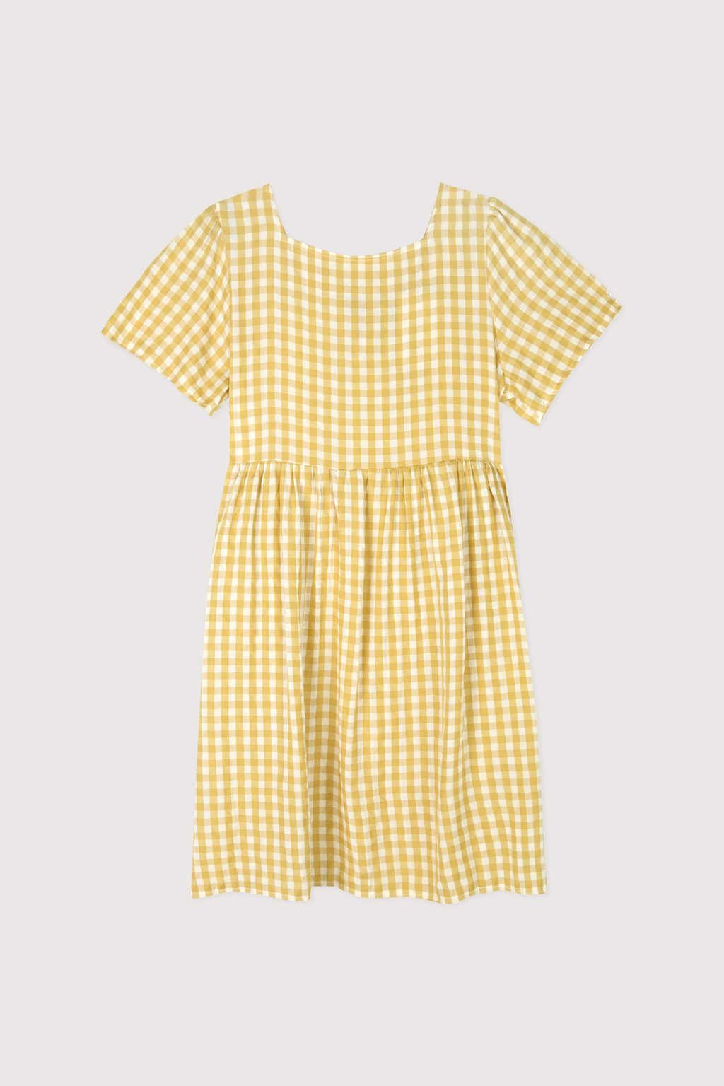 Dress K009 Mustard 5