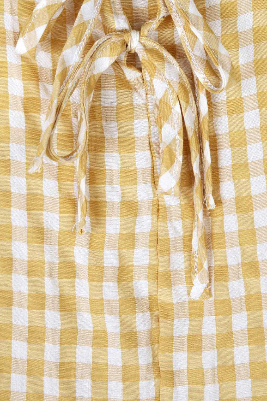 Dress K009 Mustard 6