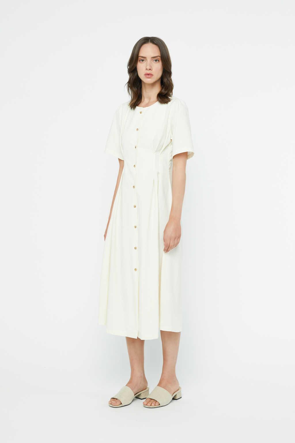Dress K011 Cream 1