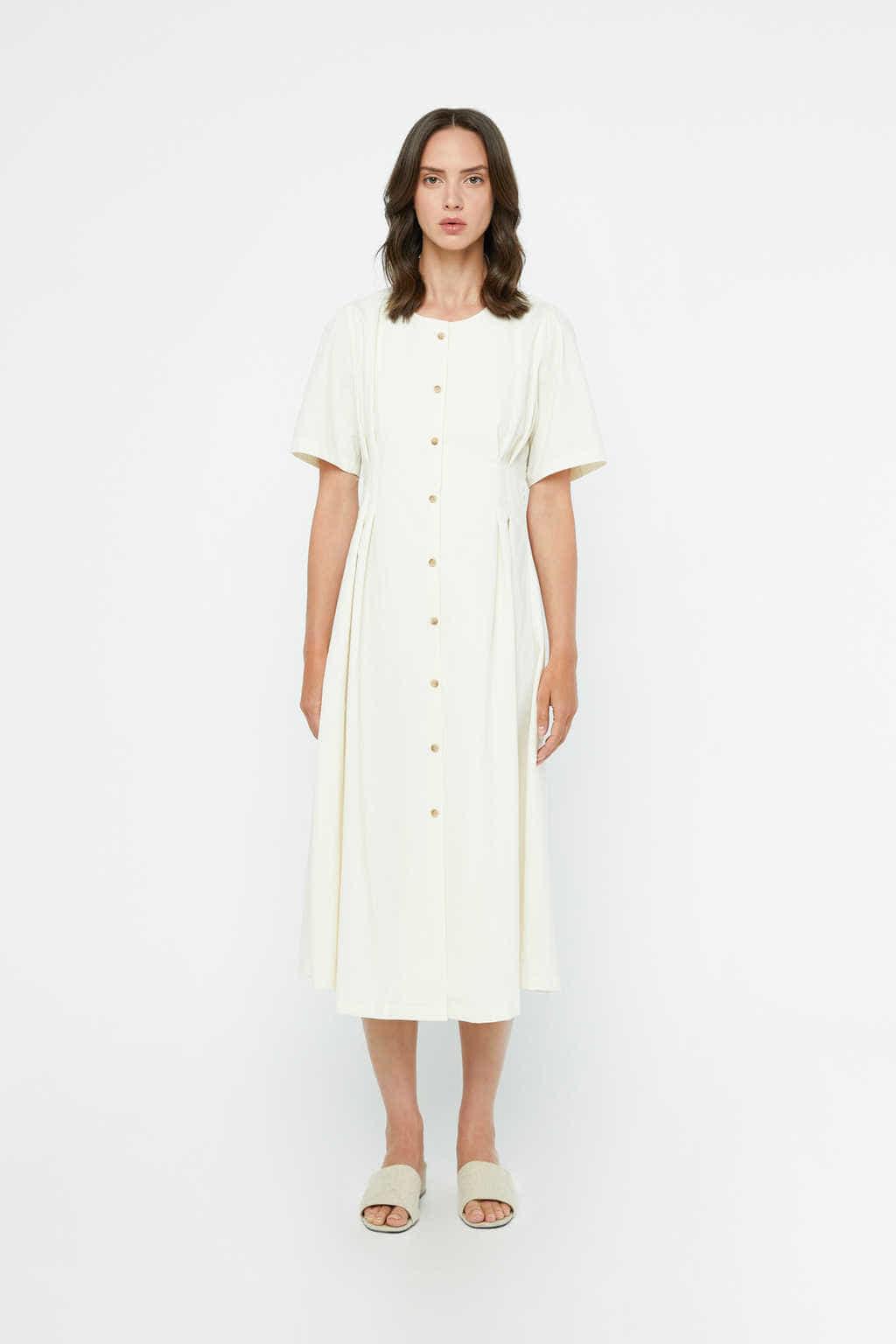 Dress K011 Cream 2