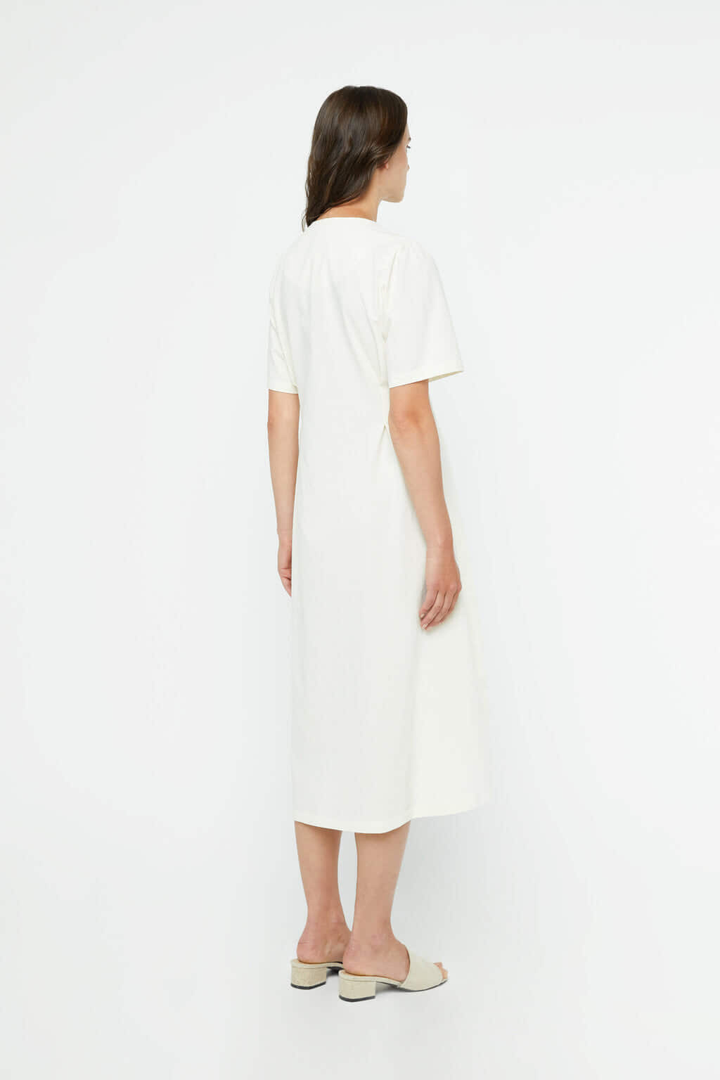 Dress K011 Cream 4