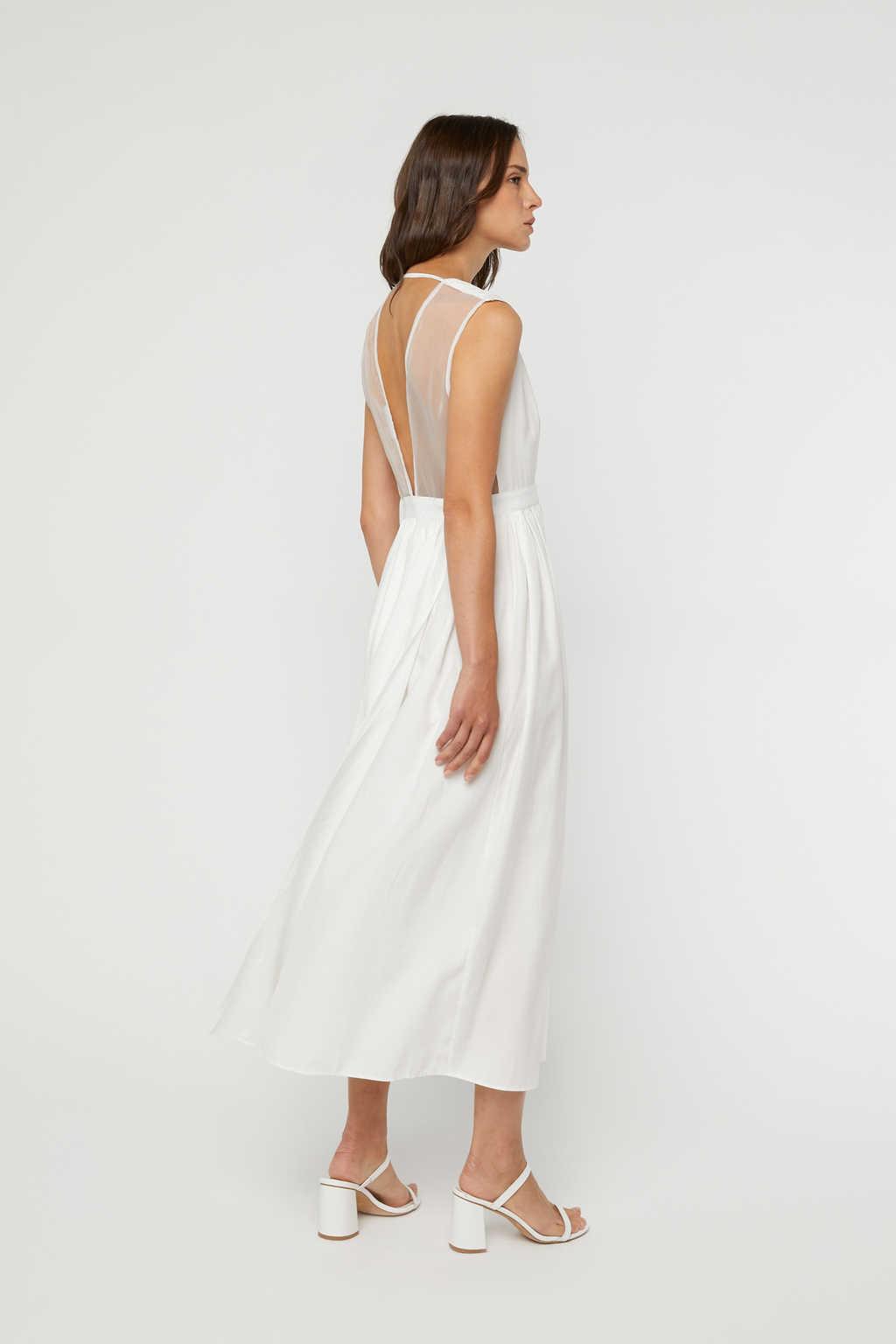 Dress K0231 Cream 1