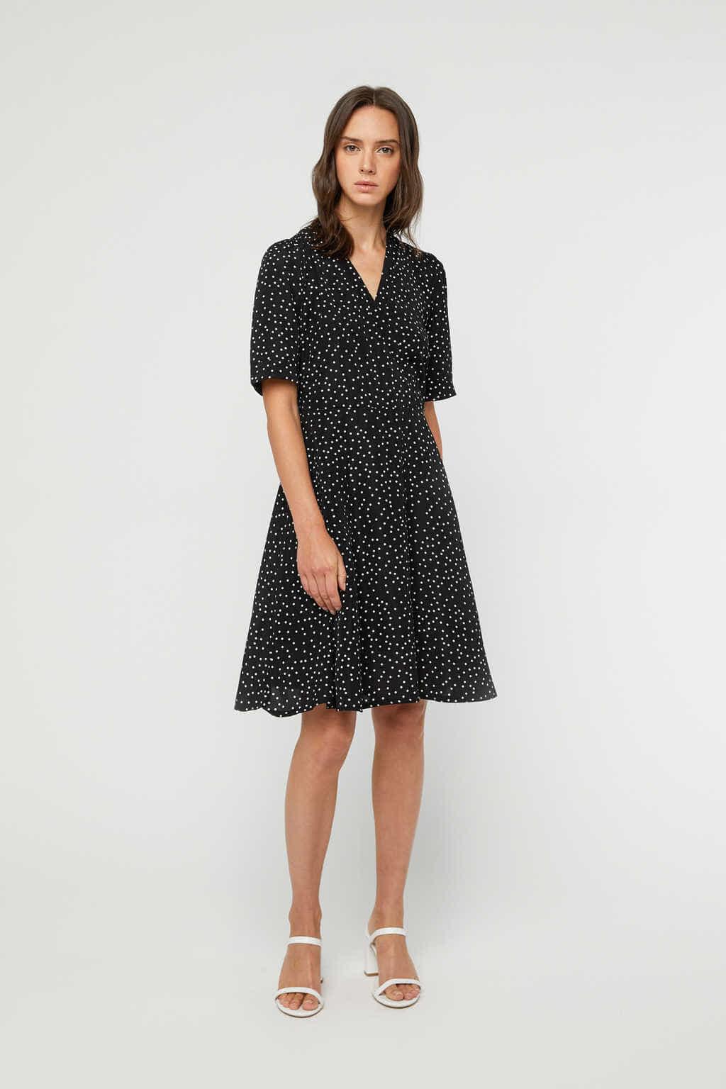 Dress K026 Black 1