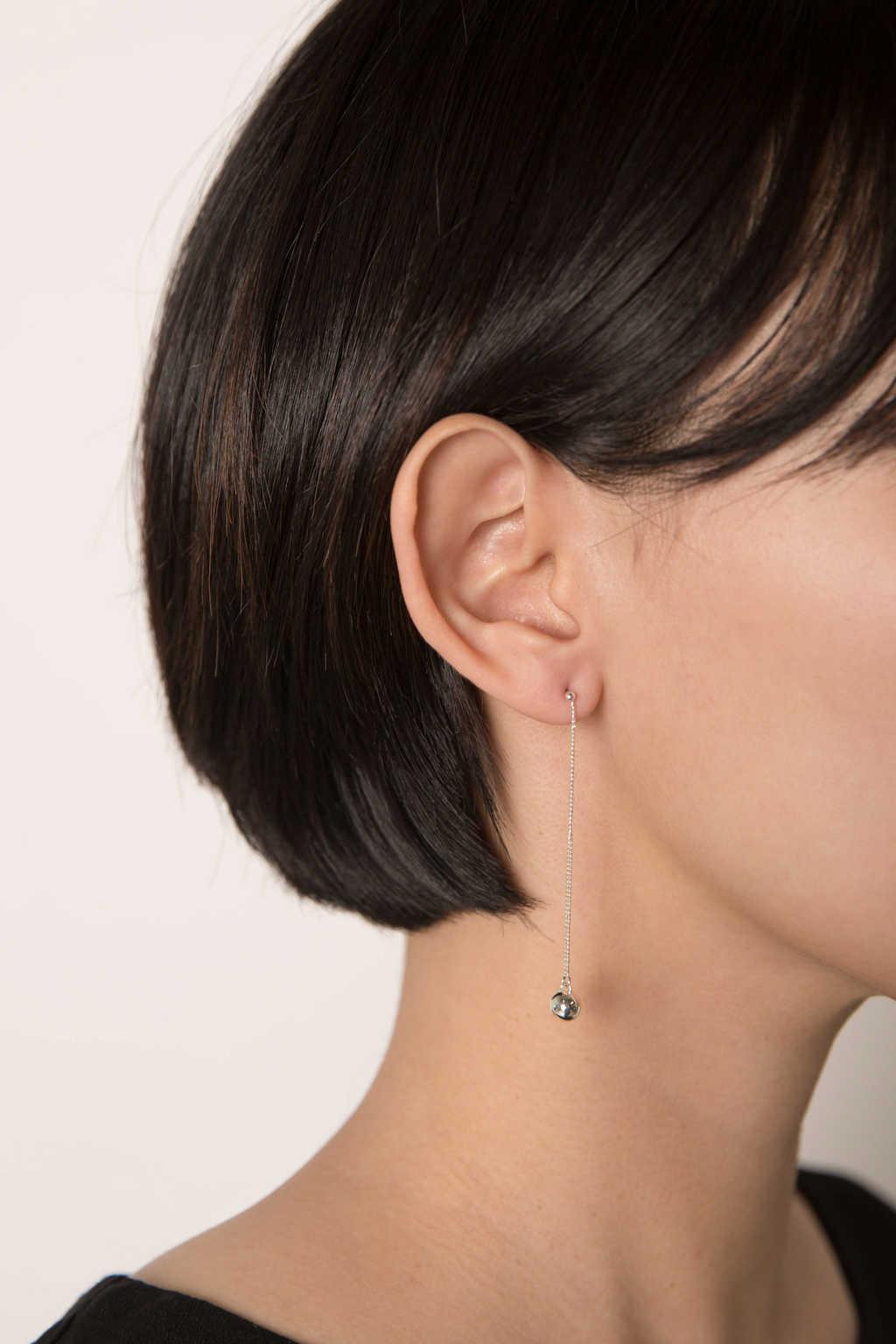 Earring 2228 Silver 3
