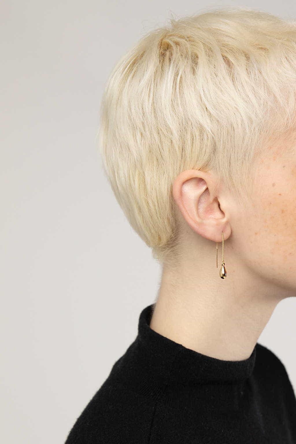 Earring 3349 Gold 3