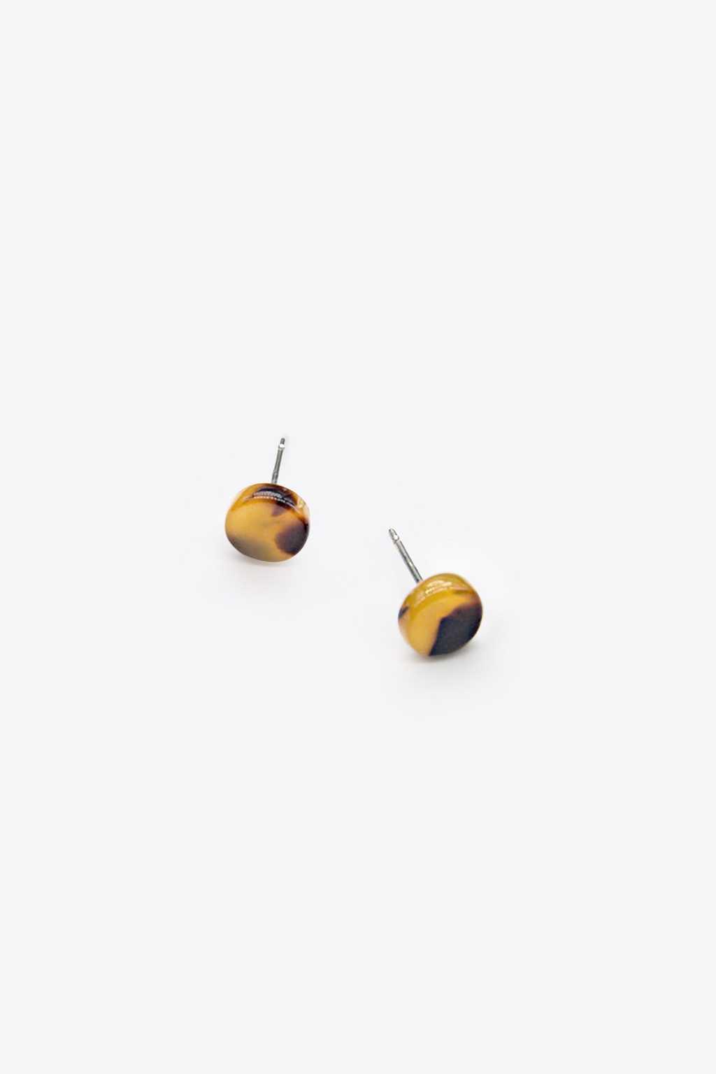 Earring H065 Brown 1