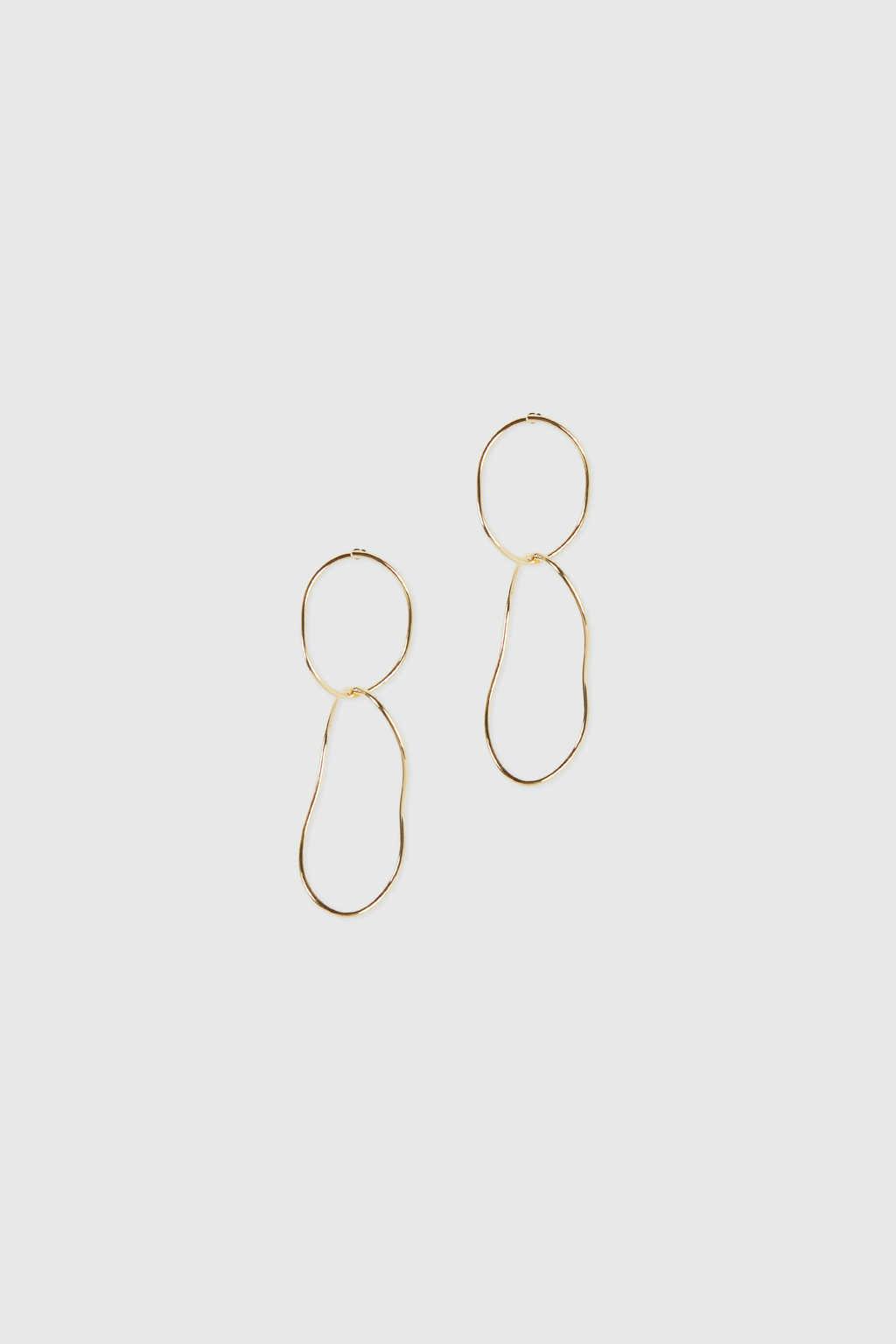 Earring J028 Gold 2