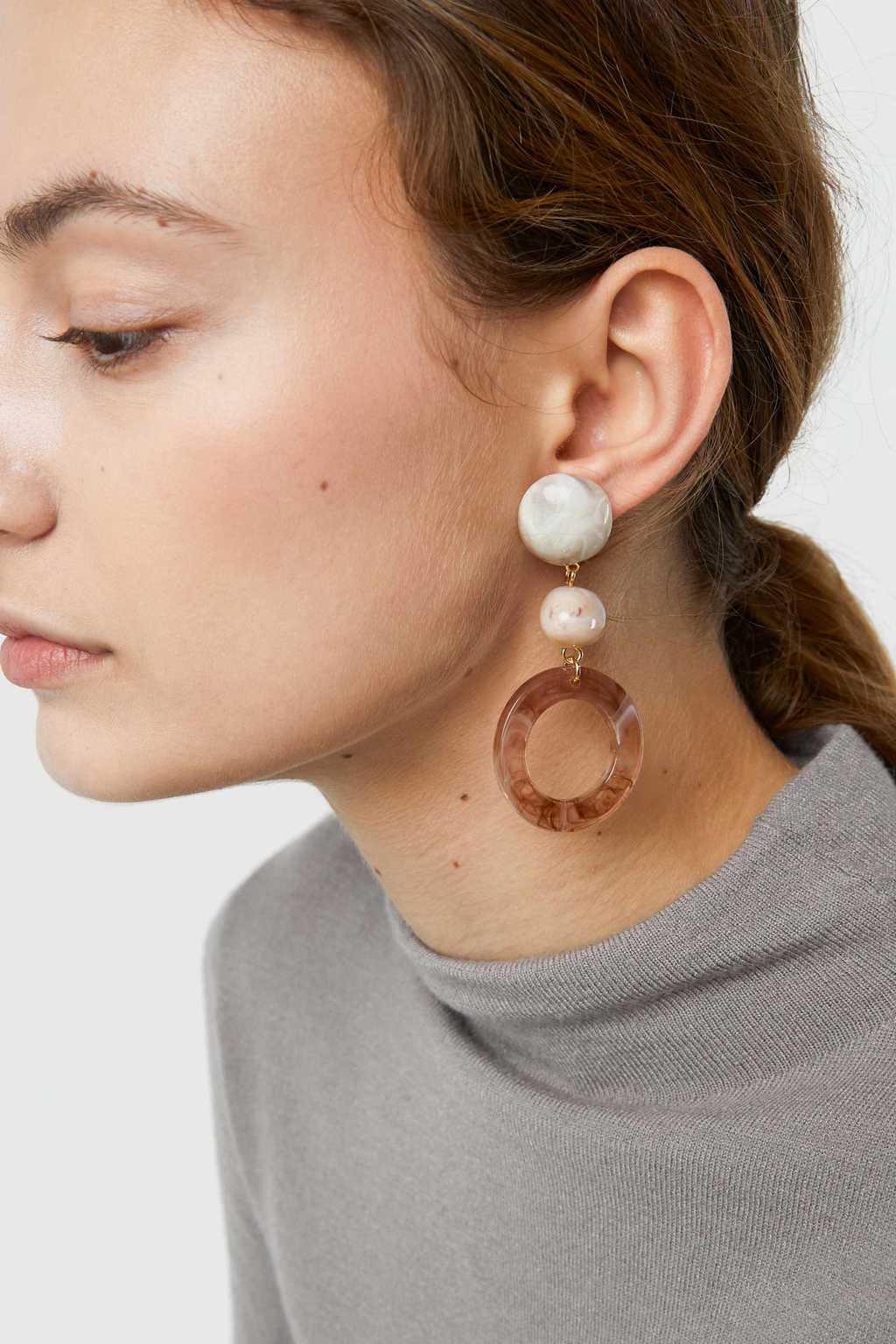 Earring J029 Gold 1