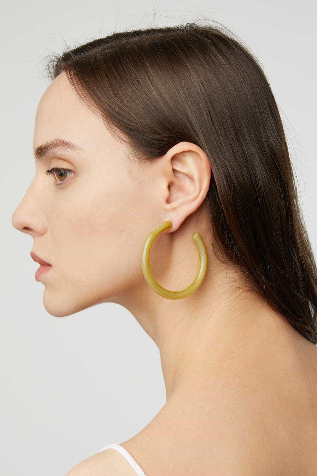 Earring K002 Mustard 5