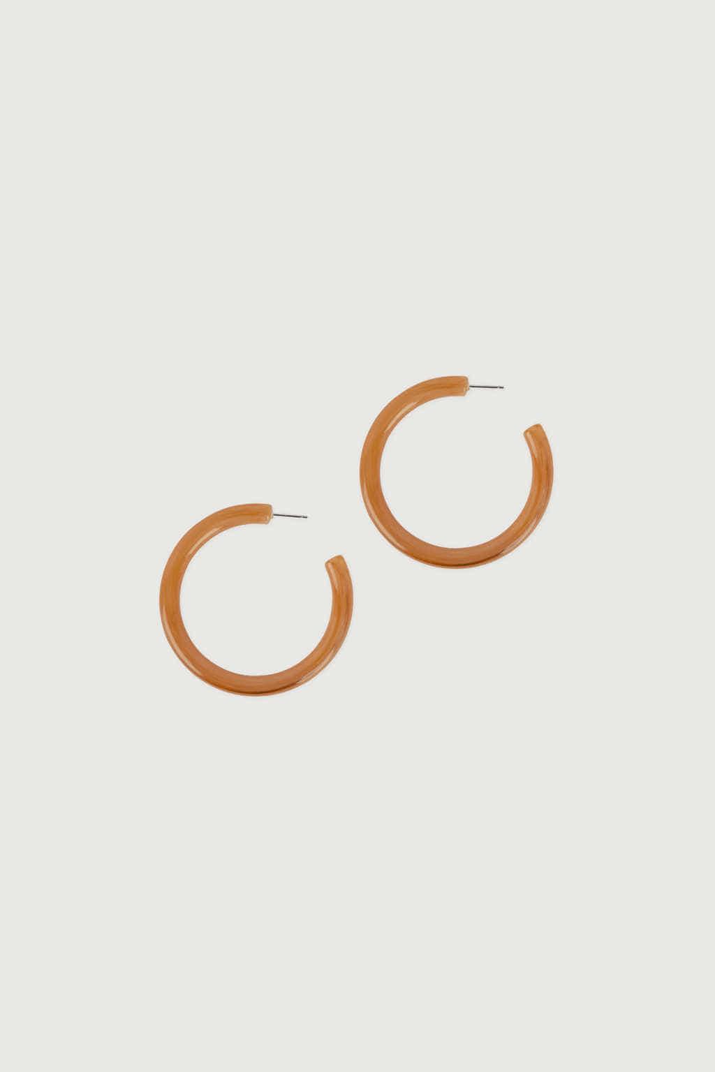 Earring K002 Orange 2