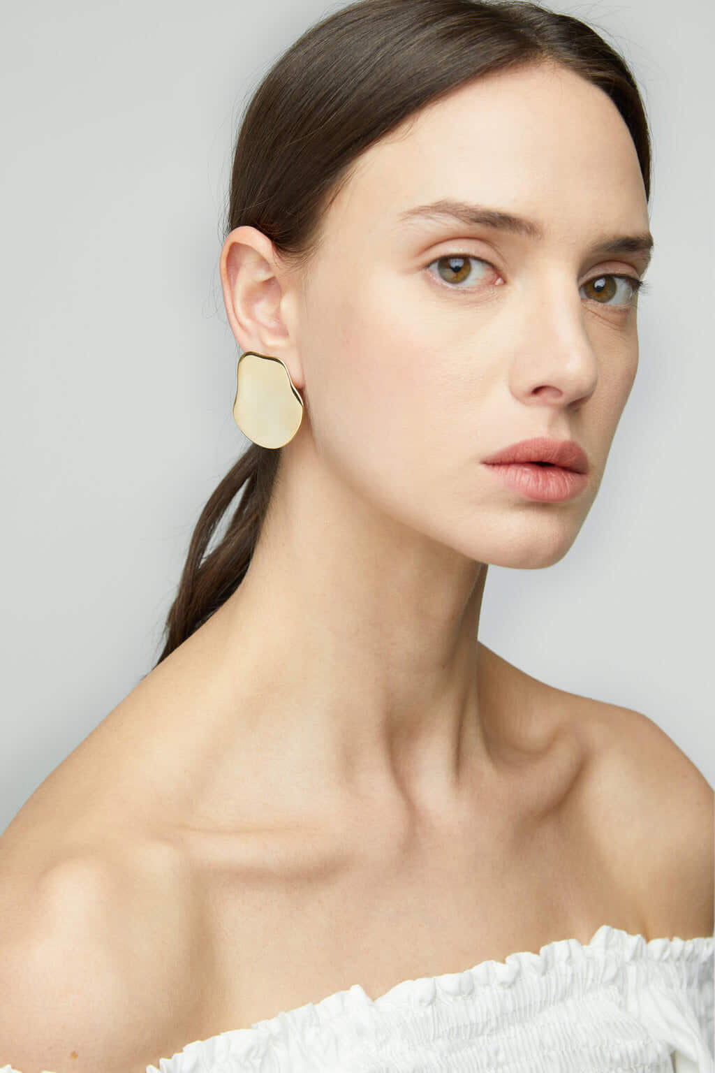 Earring K017 Gold 3