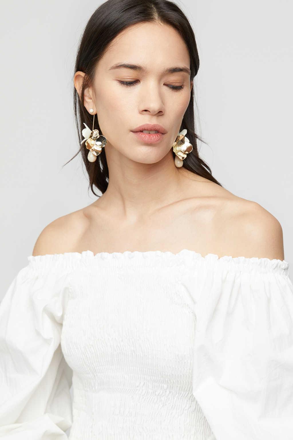 Earring K027 Gold 1