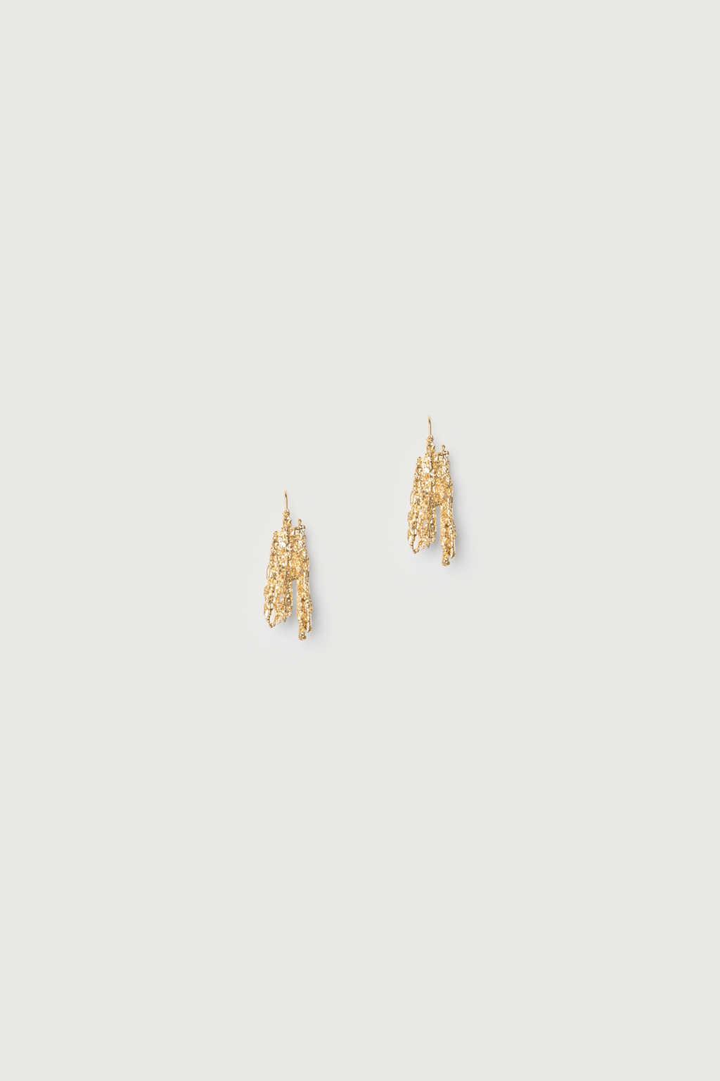 Earring K038 Gold 1