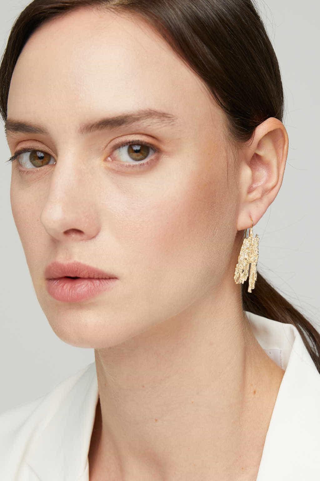 Earring K038 Gold 2