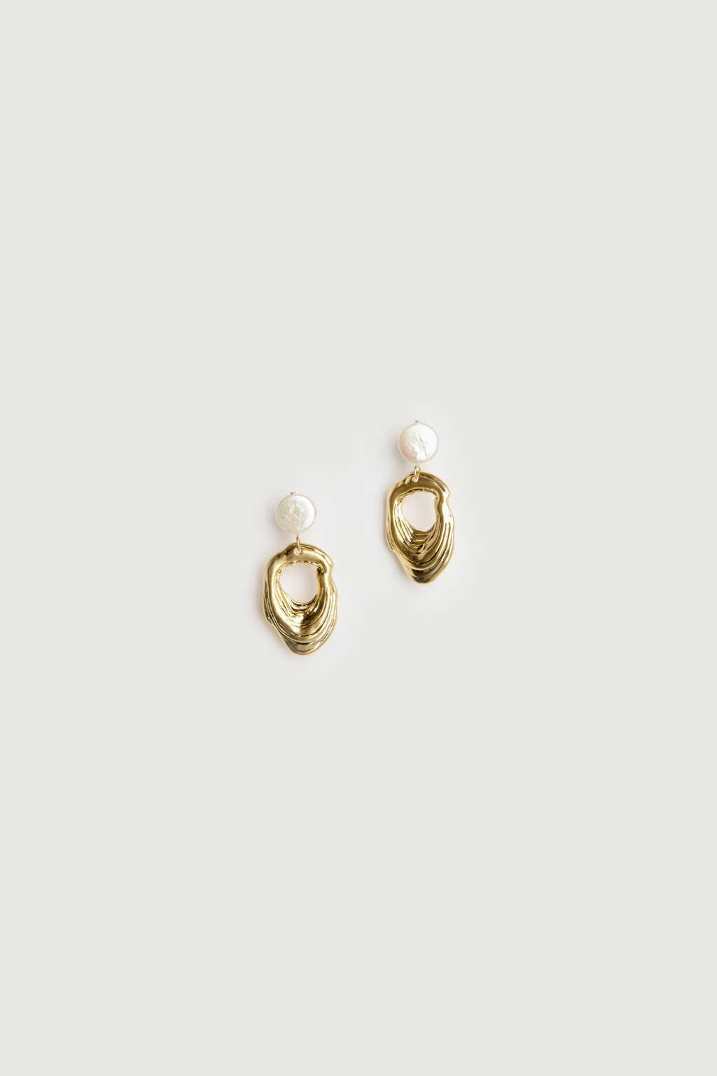Earring K049 Gold 1