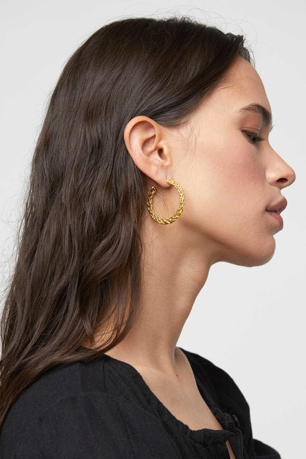 Earring K052 Gold 1