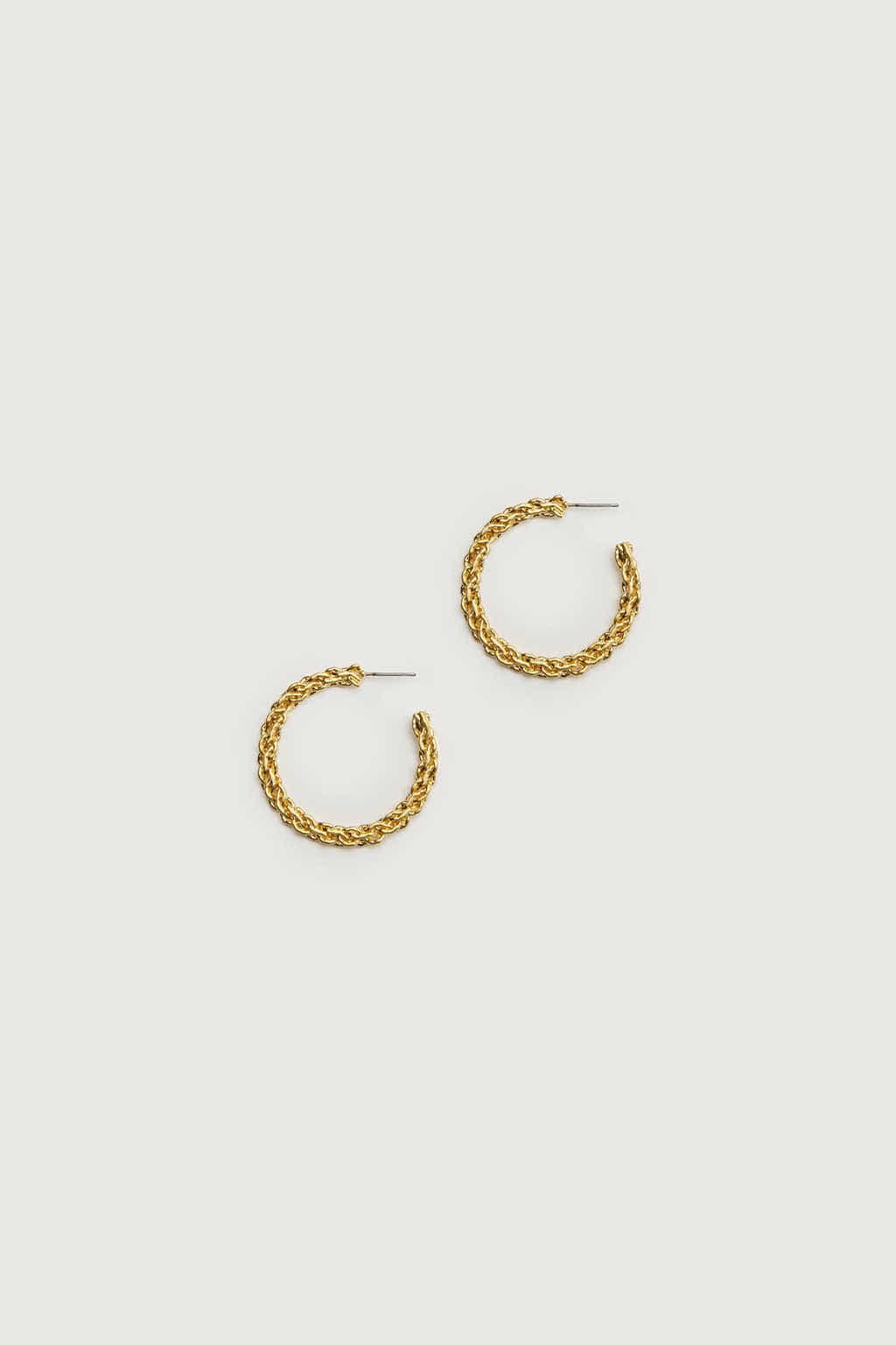 Earring K052 Gold 2