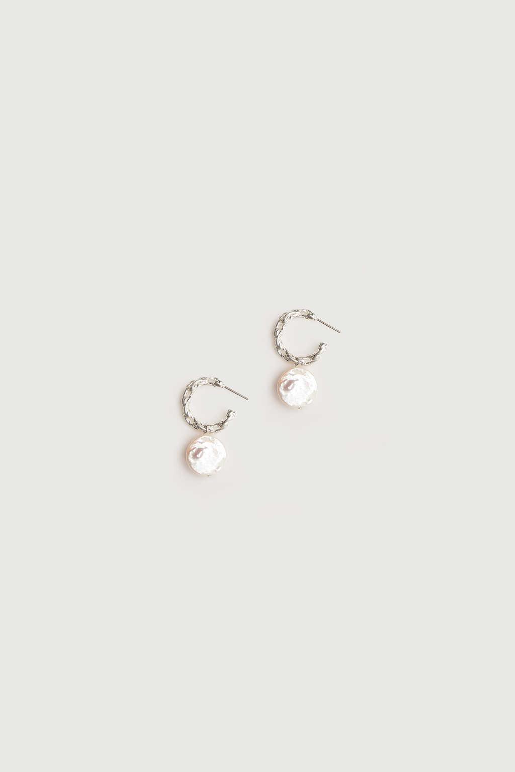 Earring K054 Silver 1