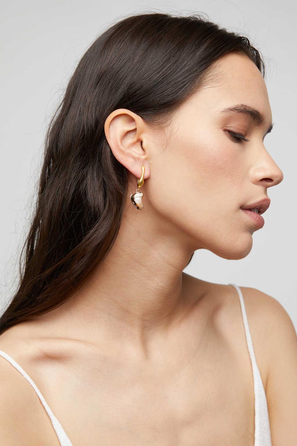 Earring K055 Gold 1