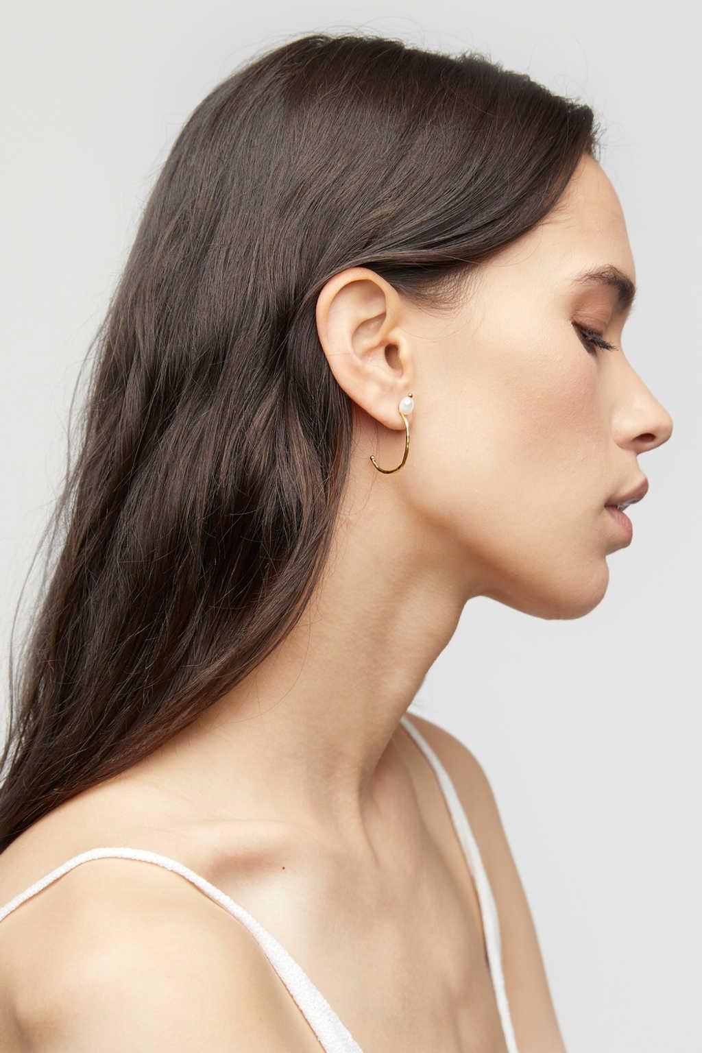 Earring K056 Gold 1