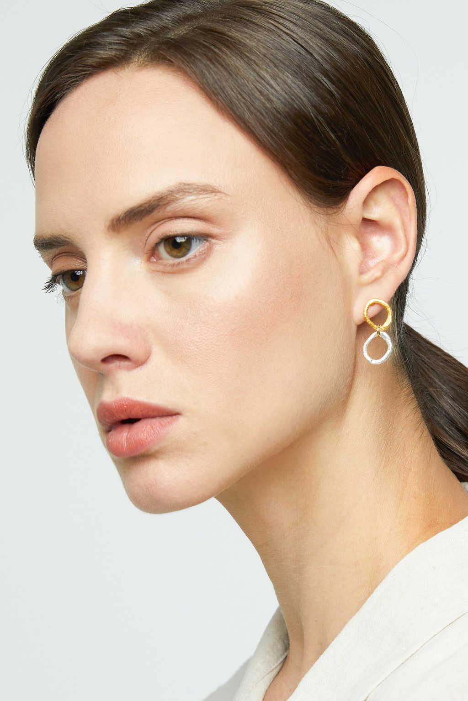 Earring K057 Gold 2