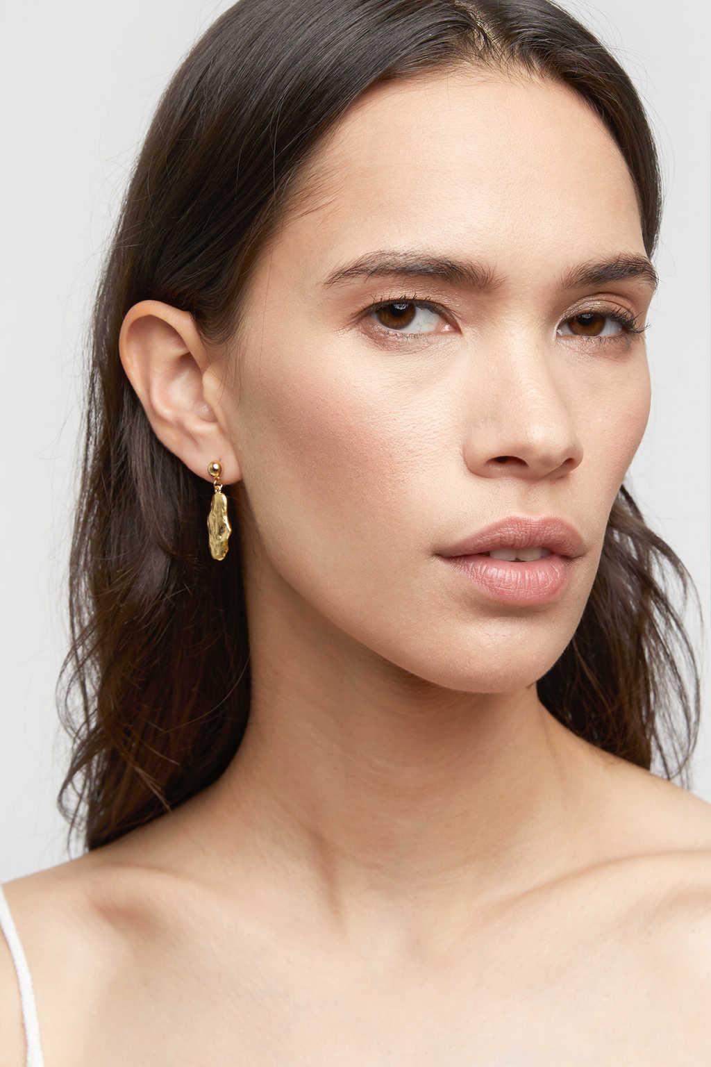Earring K059 Gold 4