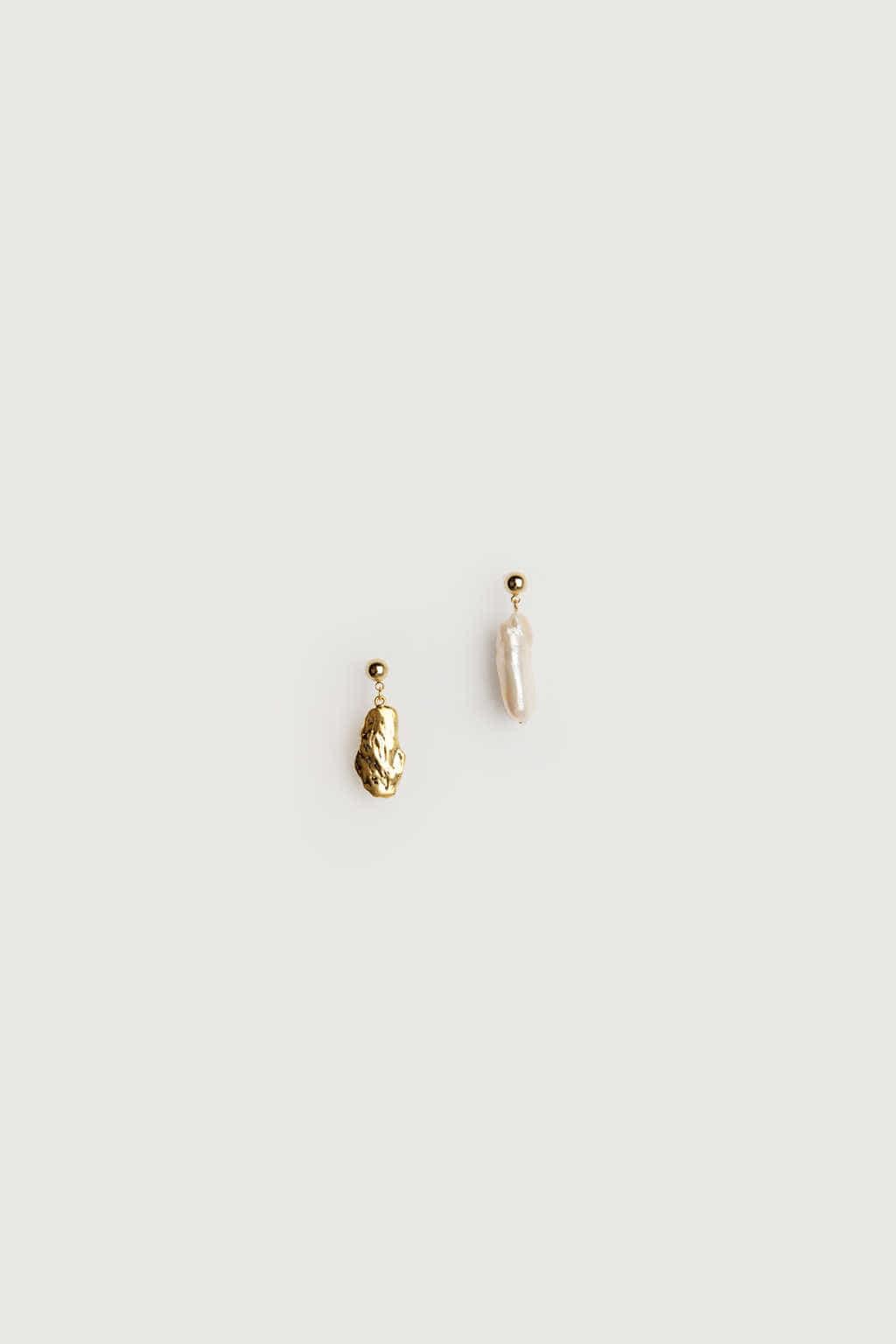 Earring K059 Silver 1