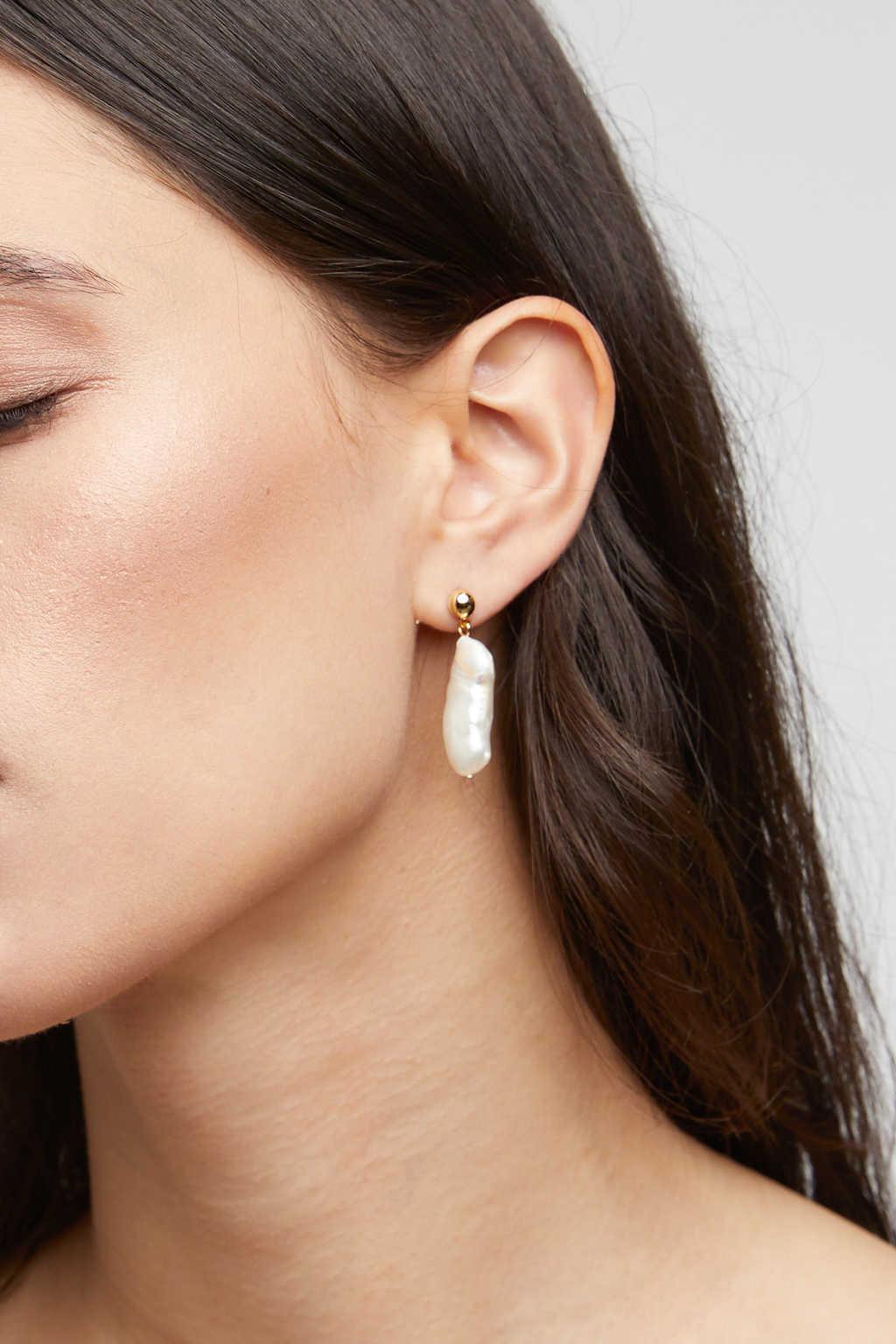 Earring K059 Silver 2