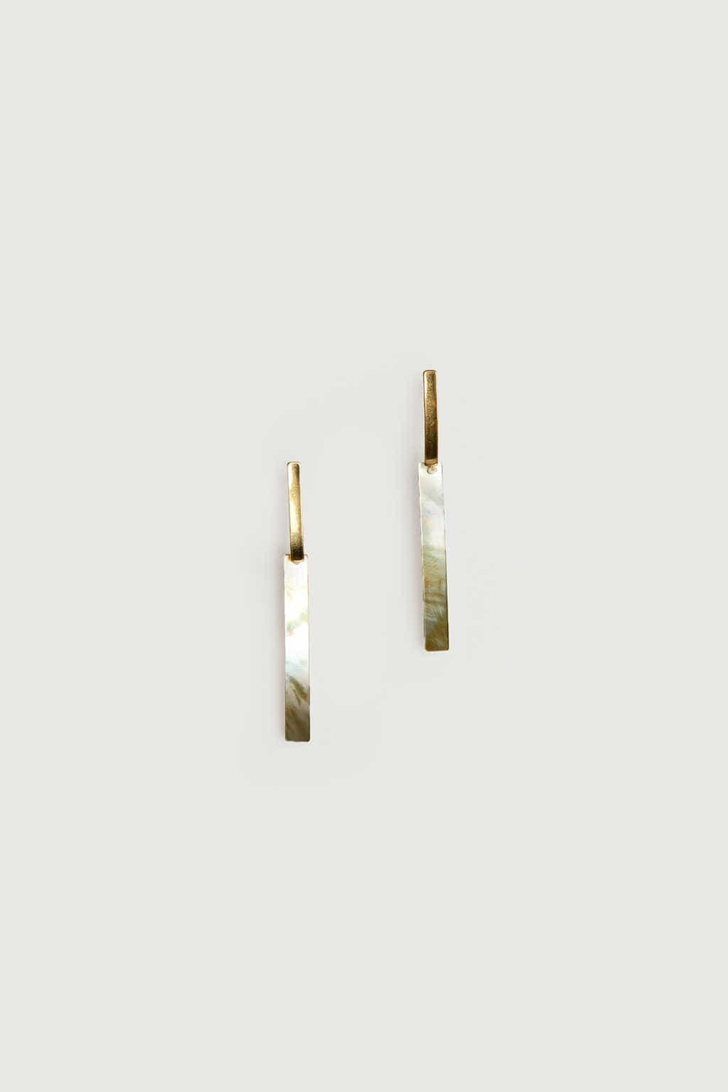Earring K064 Gold 1