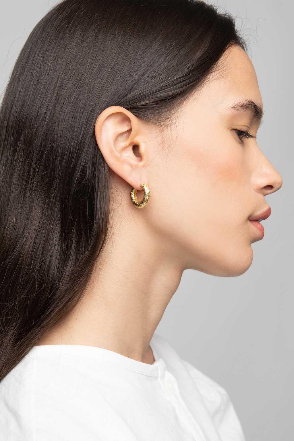 Earring K065 Gold 2