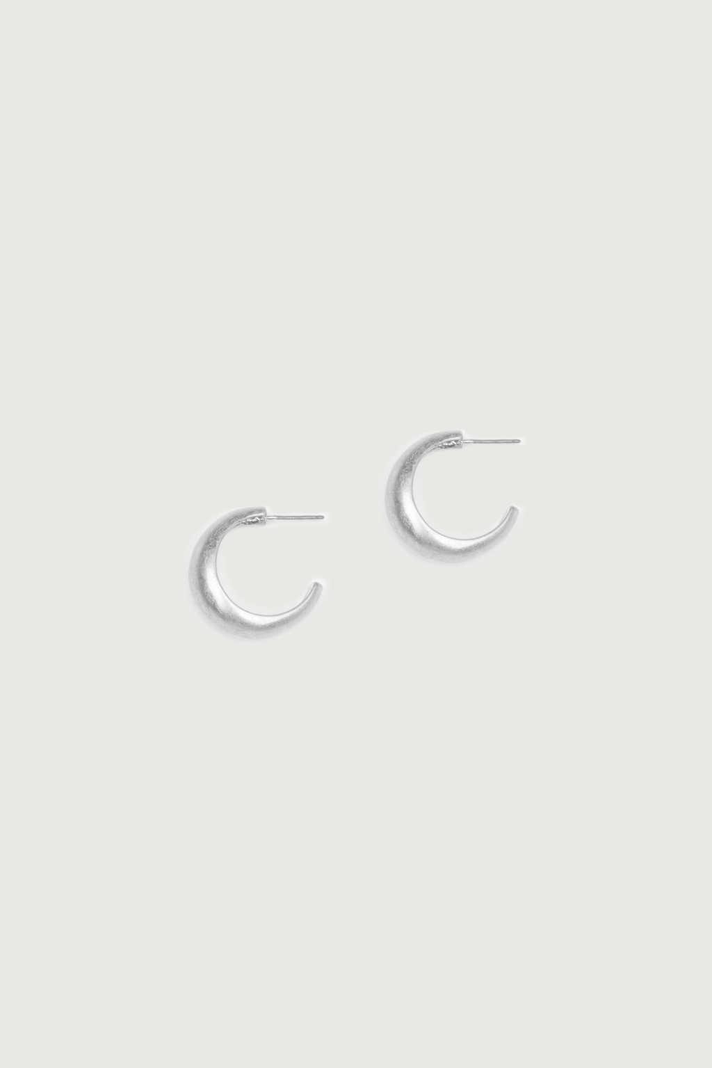 Earring K079 Silver 3