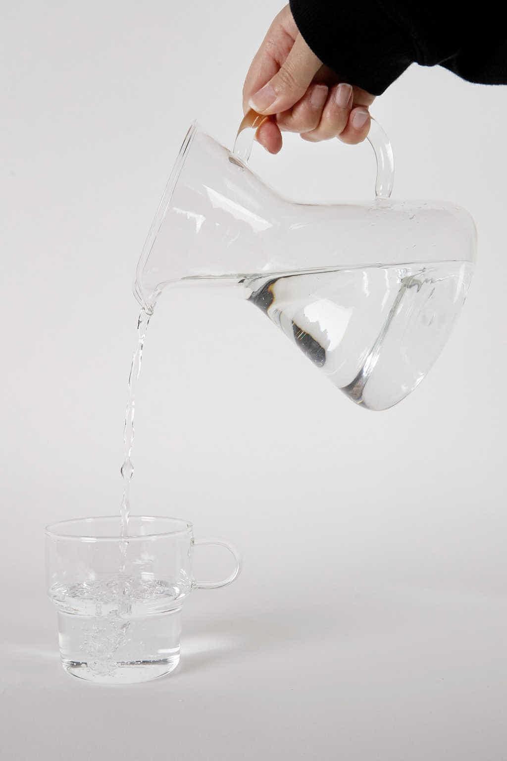 Glass Carafe 3134 White 4