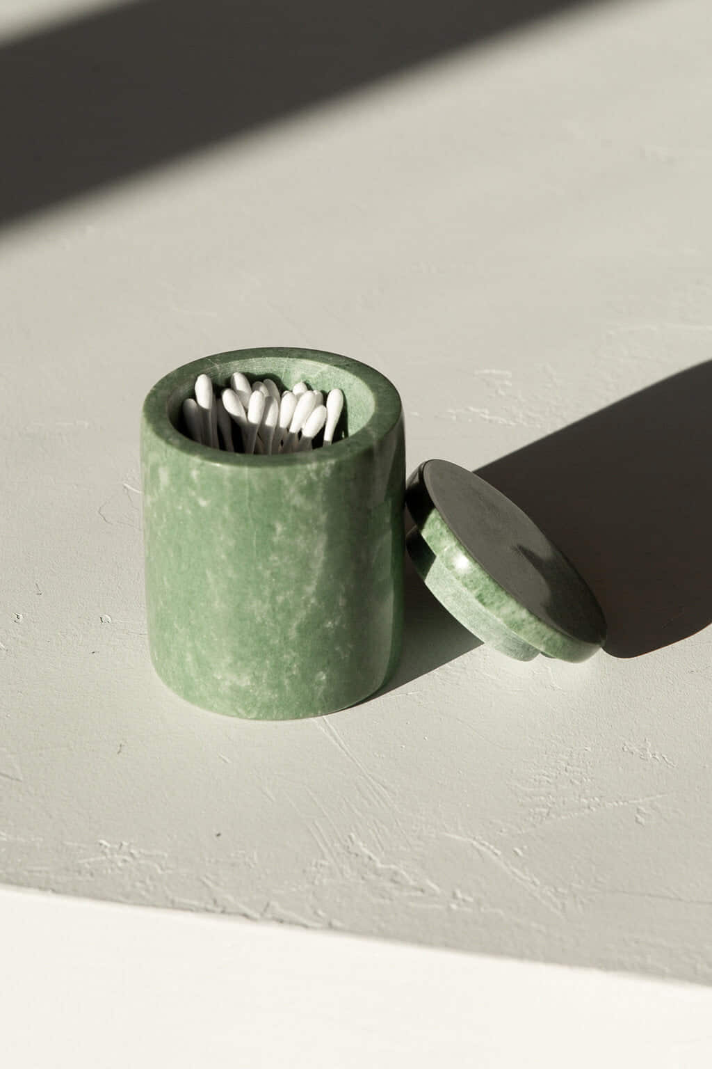 Green Marbled Canister 3128 Green 1