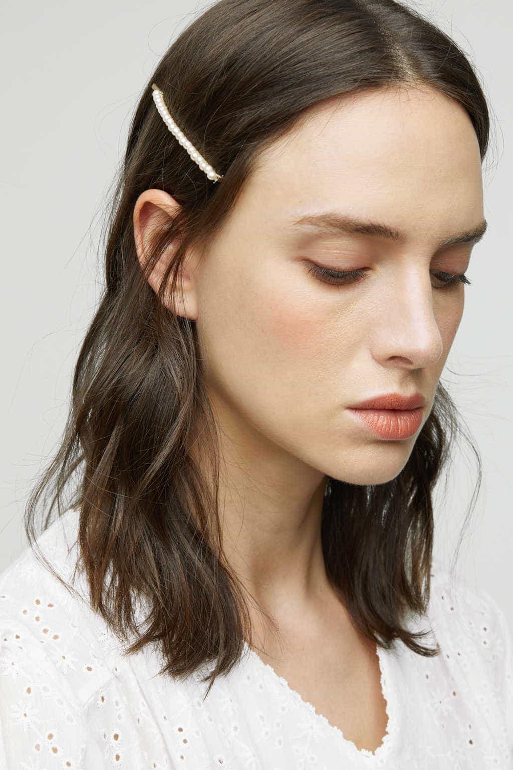 Hair Pin K007 Cream 1