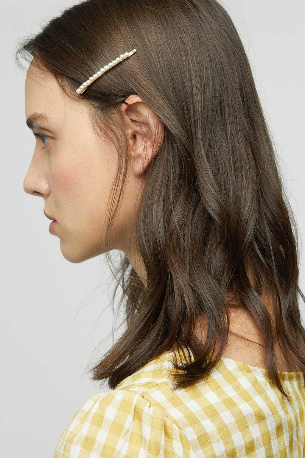 Hair Pin K010 Cream 3