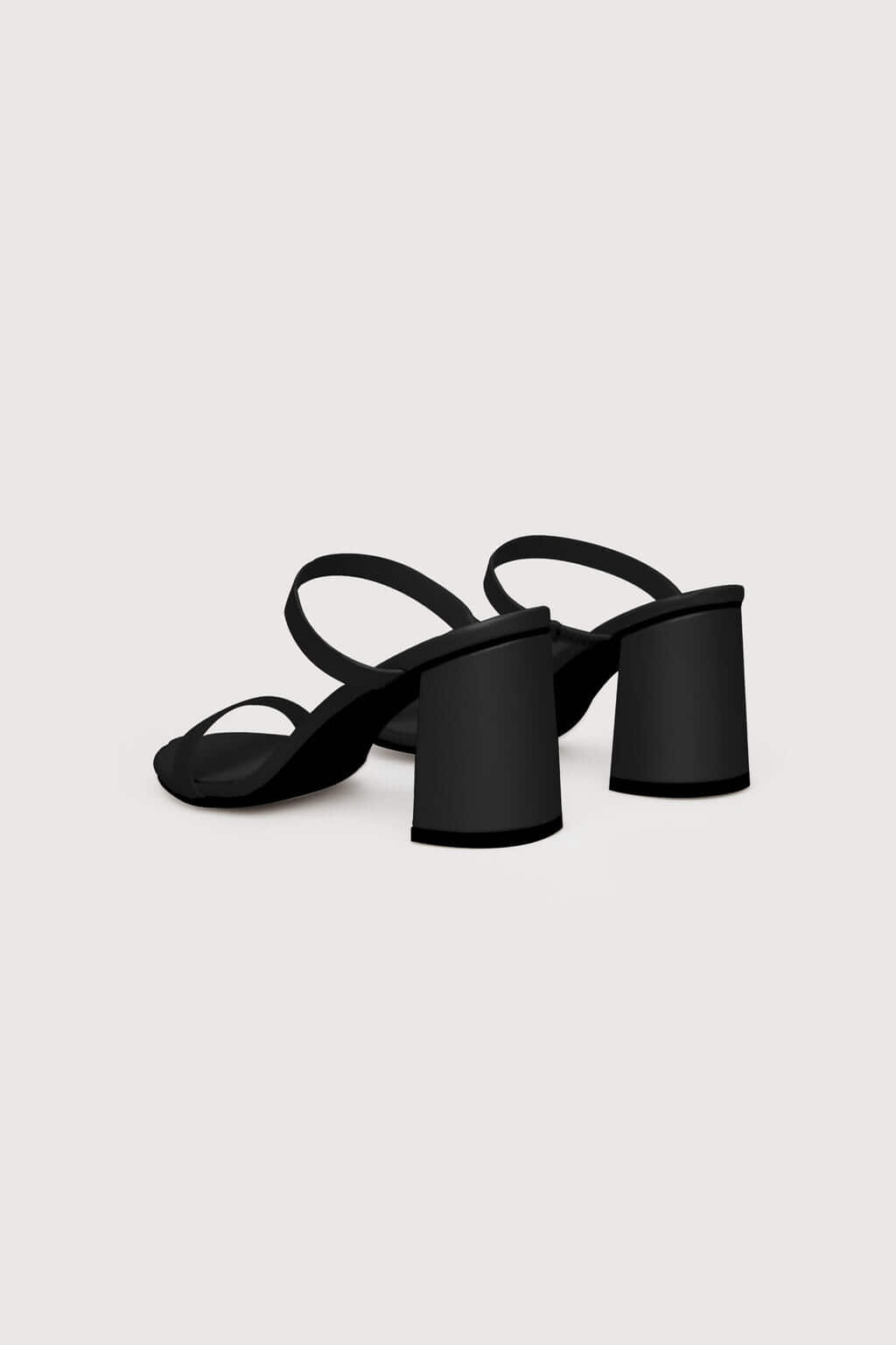 Heeled Sandal 1992 Black 7