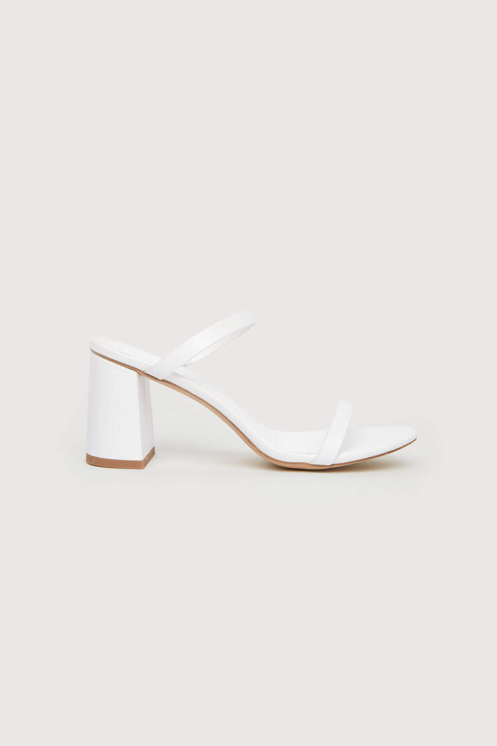 Heeled Sandal 1992 White 2