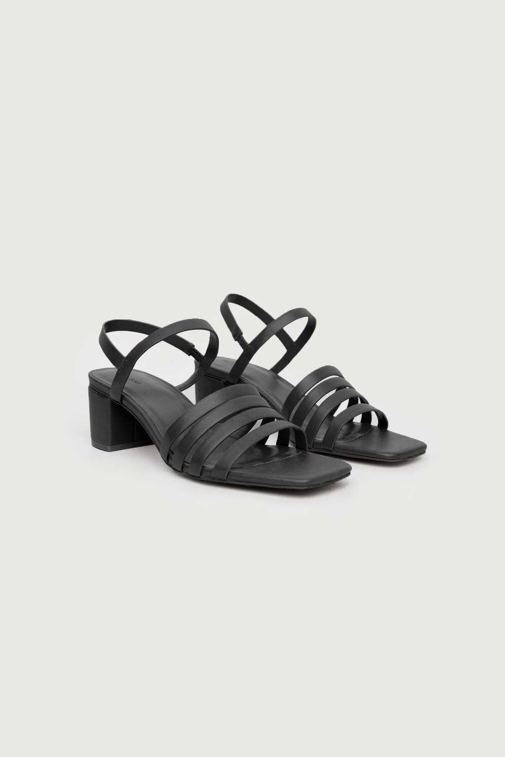 Heeled Sandal 3455 Black 3