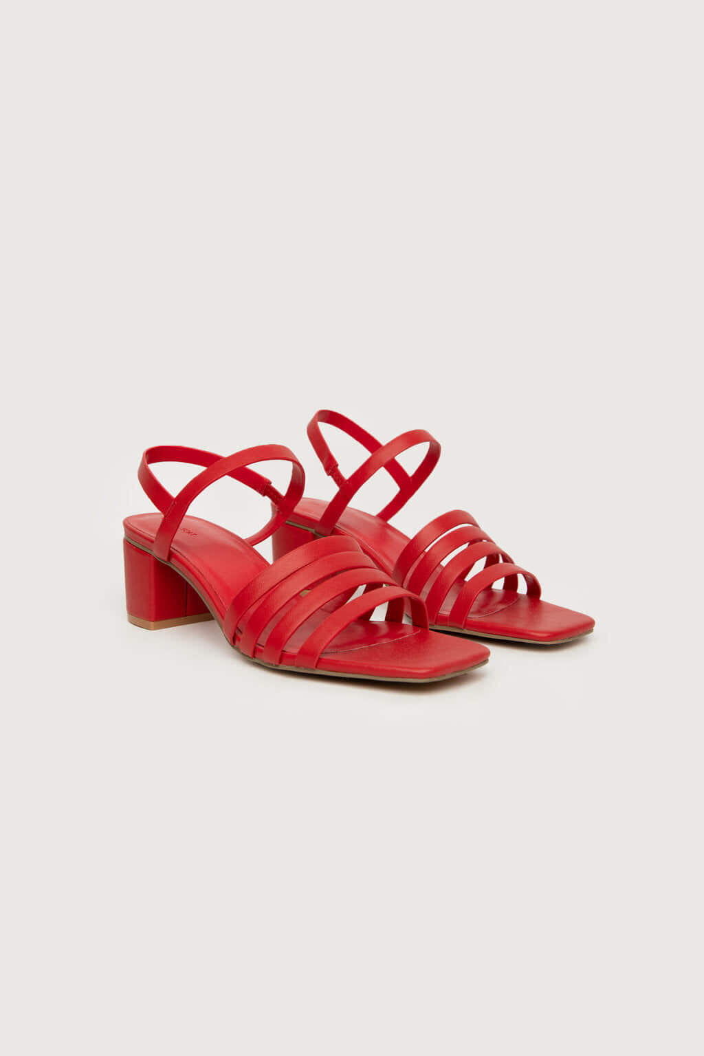 Heeled Sandal 3455 Red 6