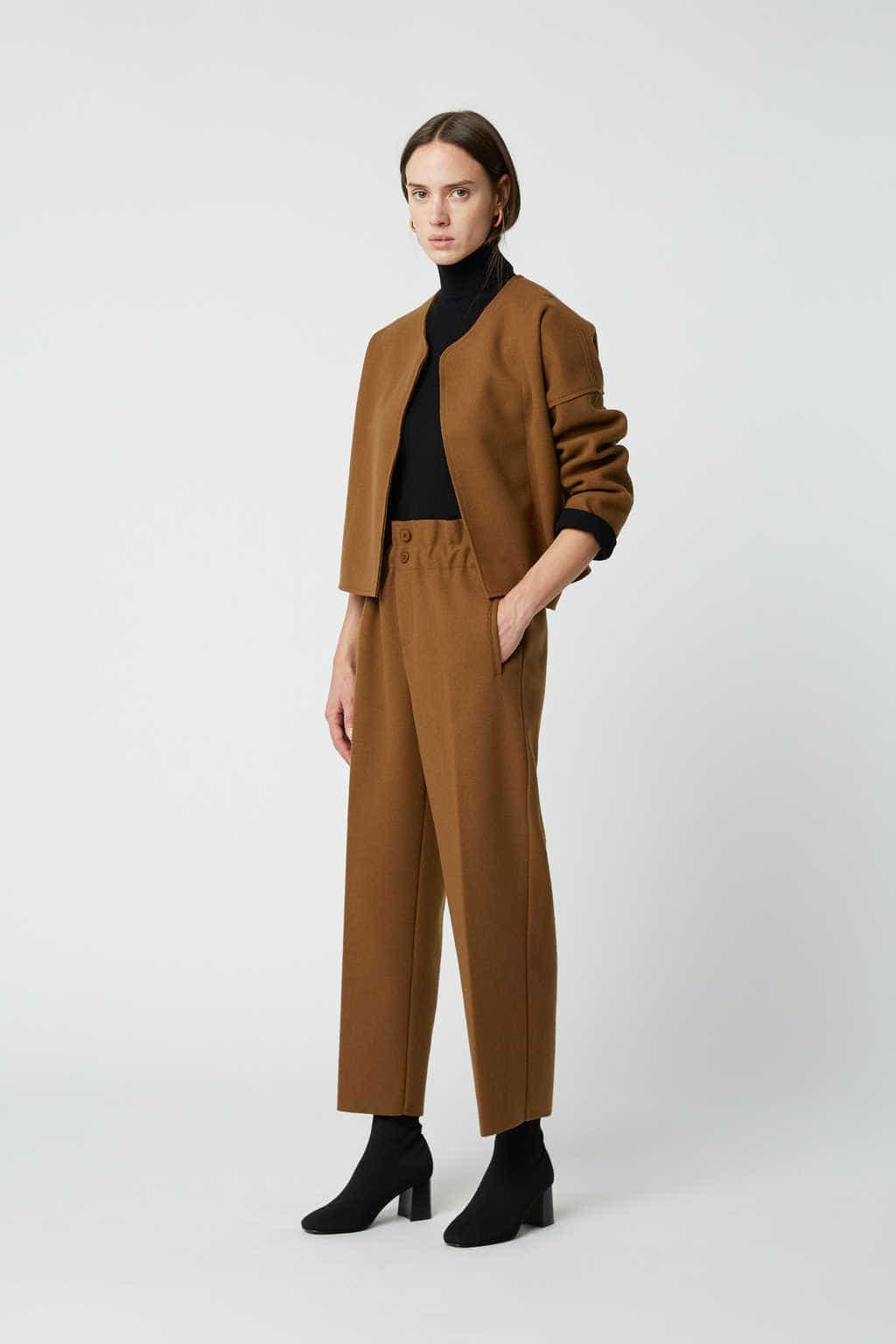 Jacket 2591 Brown 5