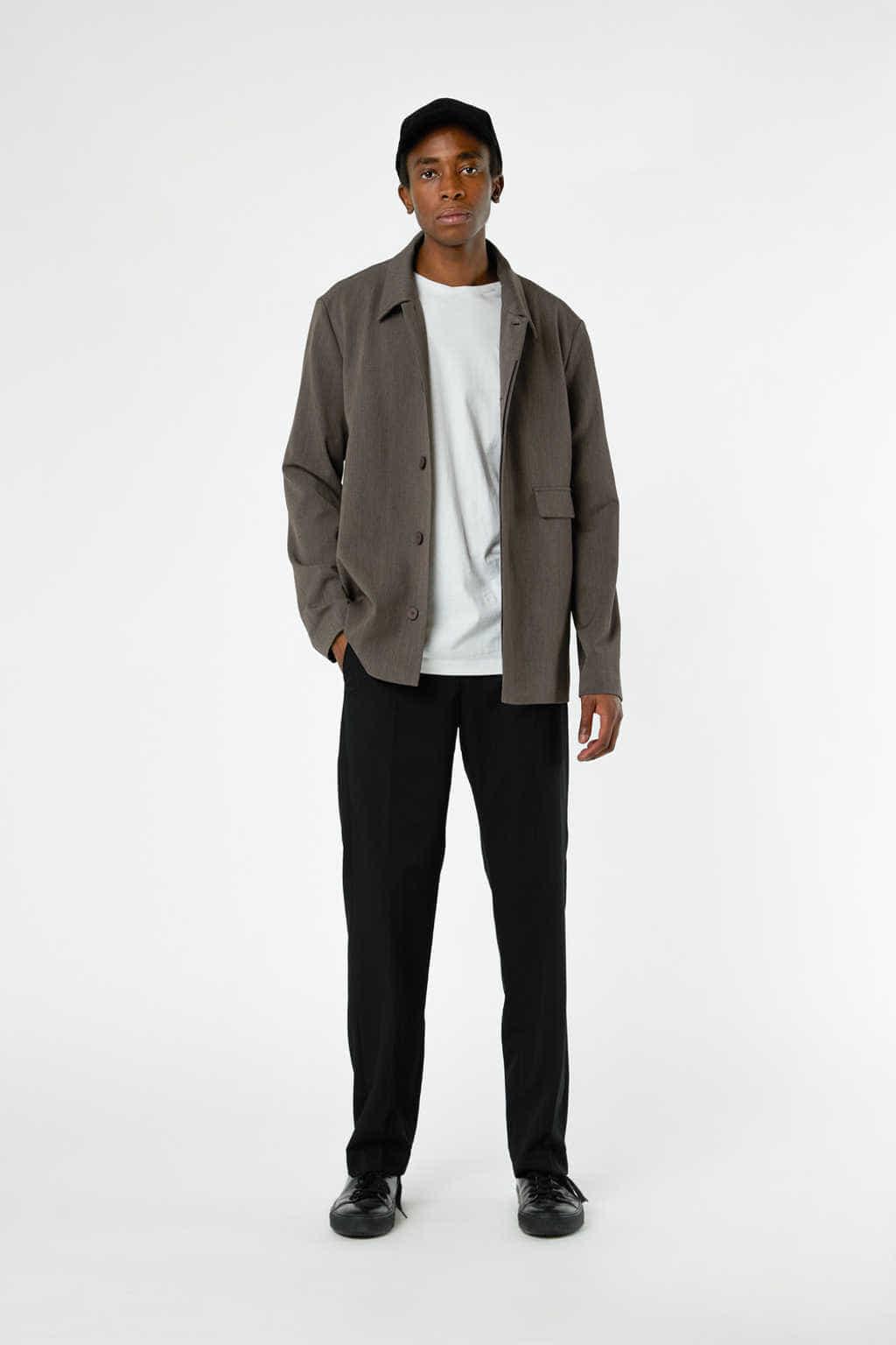 Jacket 3362 Brown 2