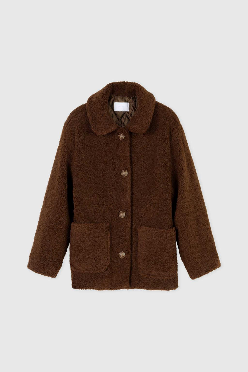 Jacket J001K Brown 5