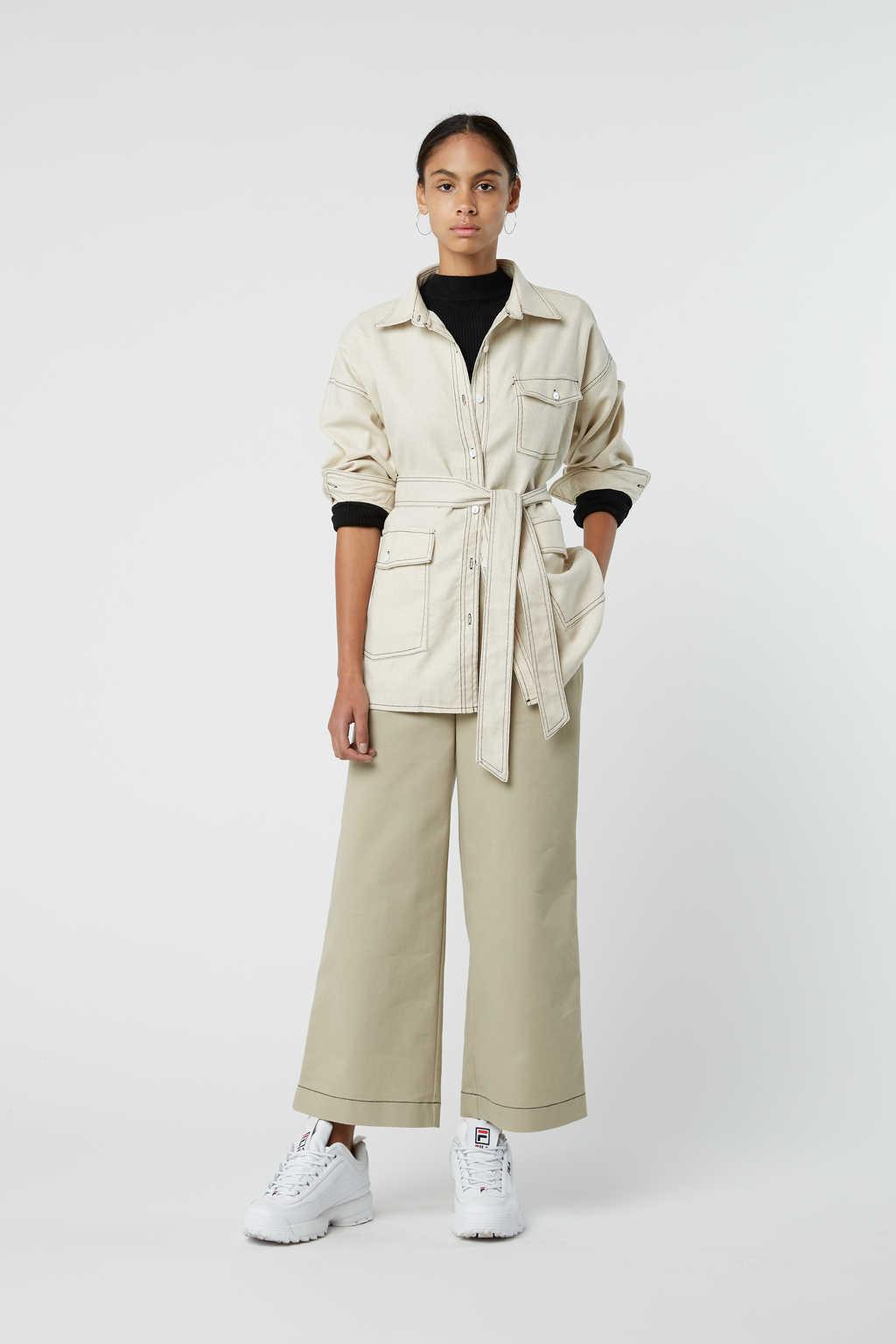 Jacket J001 White 1
